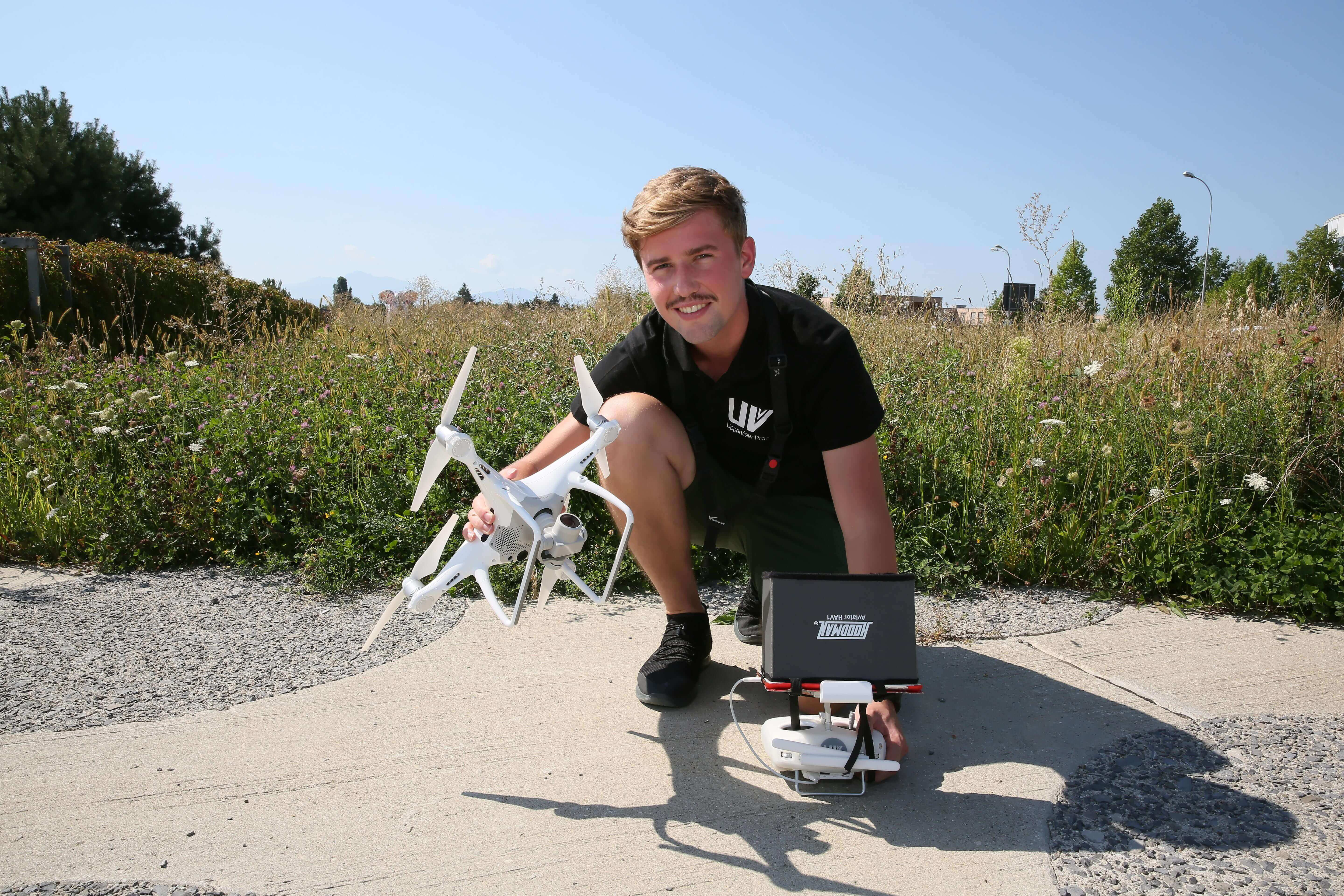 fawn Thermal Camera-Equipped UAVs Help Save Bambi Before Harvest