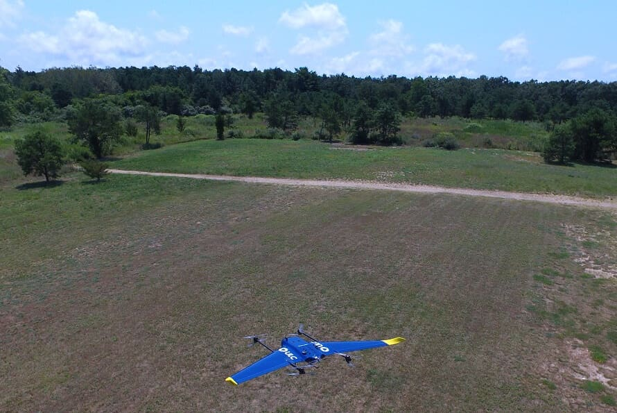 ulc ULC's Fixed-Wing, VTOL Drone Designed for Utility Inspections
