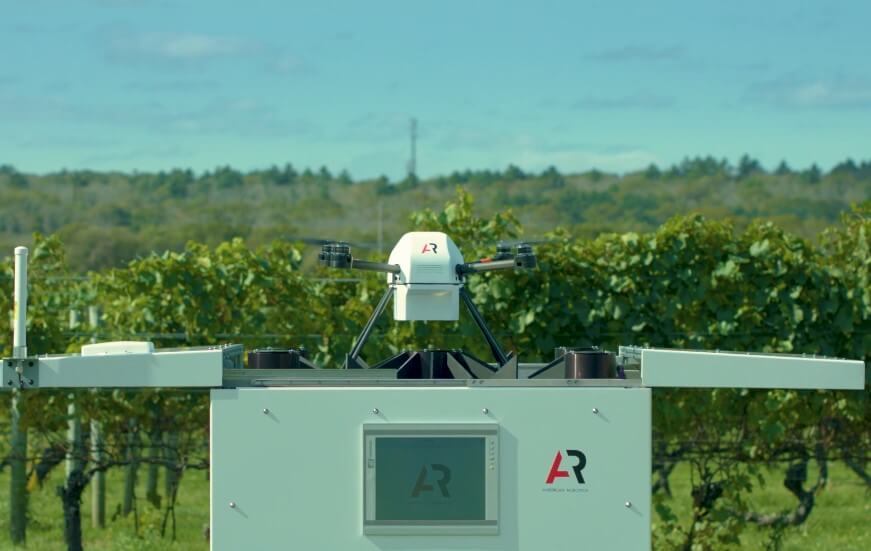 American Robotics Launches Fully Autonomous Drone System For