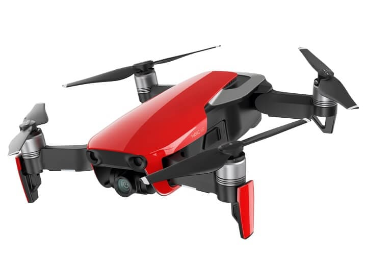 Mavic-Air_Flame-Red_side-2_preview DJI's New 4K Mavic Air Drone Weighs Under One Pound