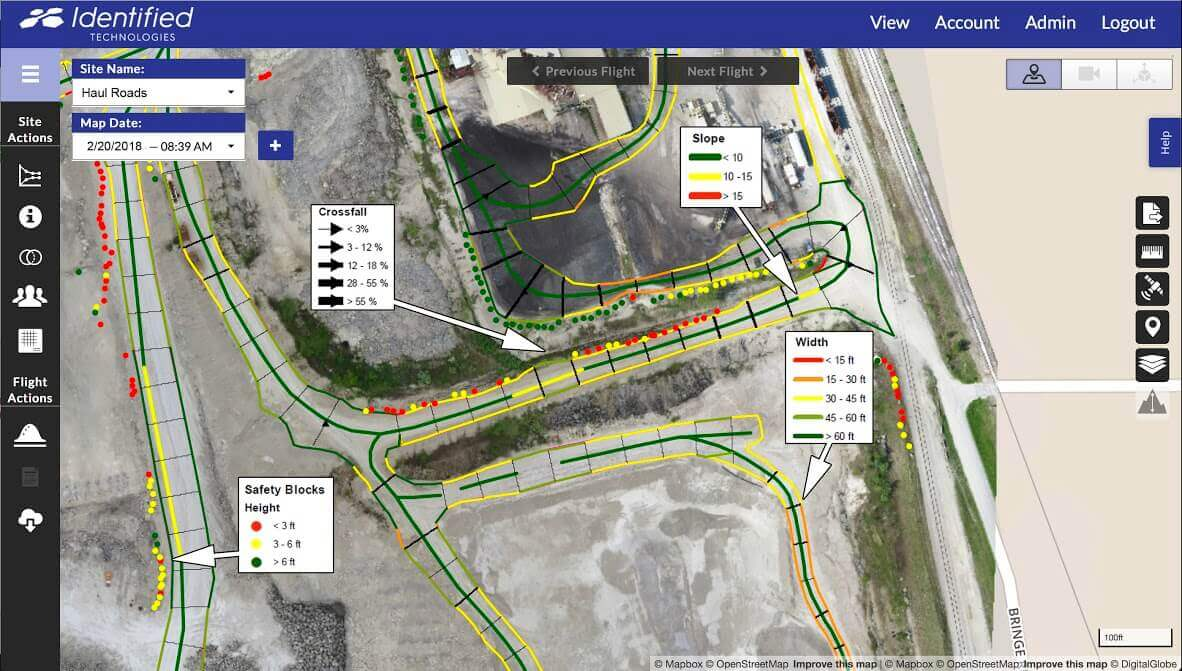 Identified Technologies Rolls Out Slew Of New Drone Mapping Features - Uav aerial mapping