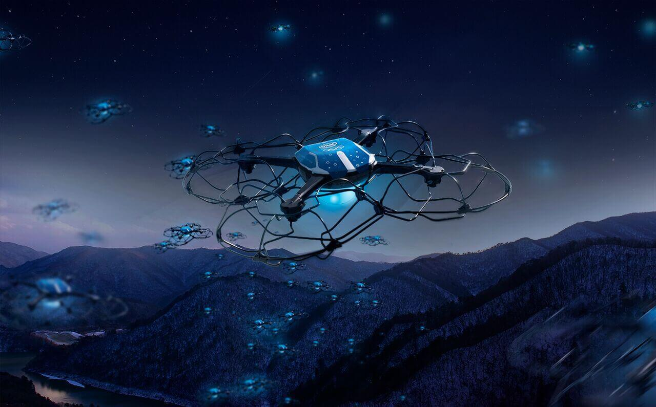 intel-drone-1 Intel Puts on Record-Breaking Drone Show for Olympics