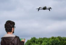 flying drones commercially