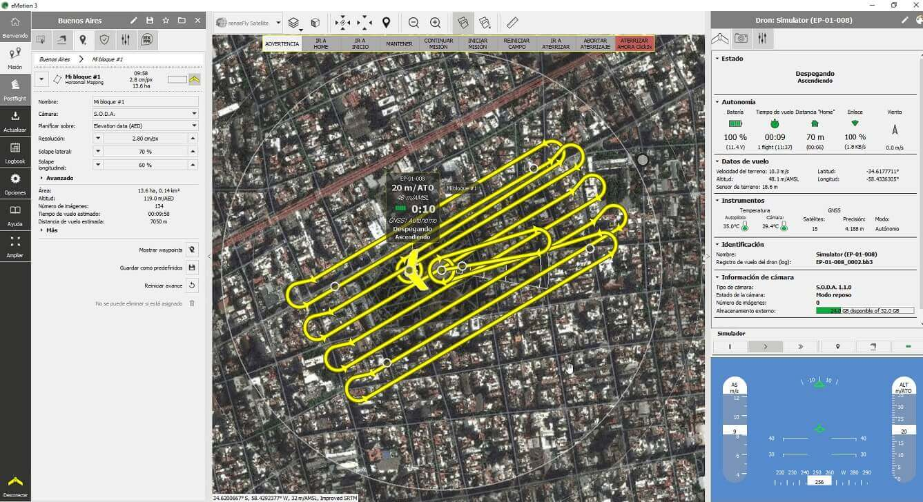 senseFly Bolsters eMotion Software for Drone Mapping - Unmanned Aerial