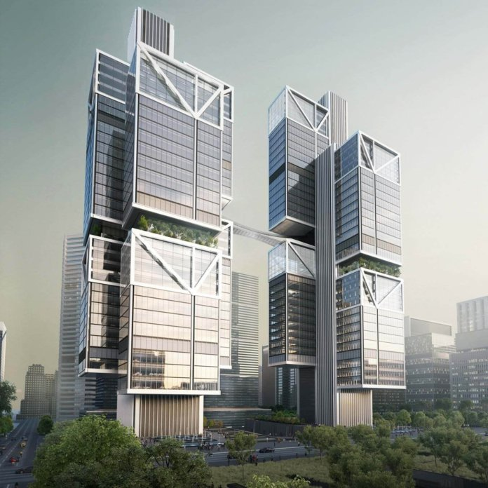 Dji 39 s unique new headquarters to feature tower duo sky for Arcadis bangalore