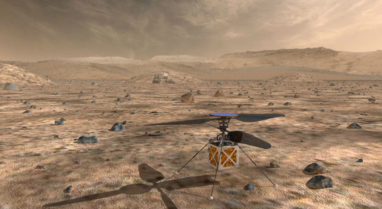 NASA is Launching a Four-Pound Unmanned Aircraft on Mars - Unmanned Aerial