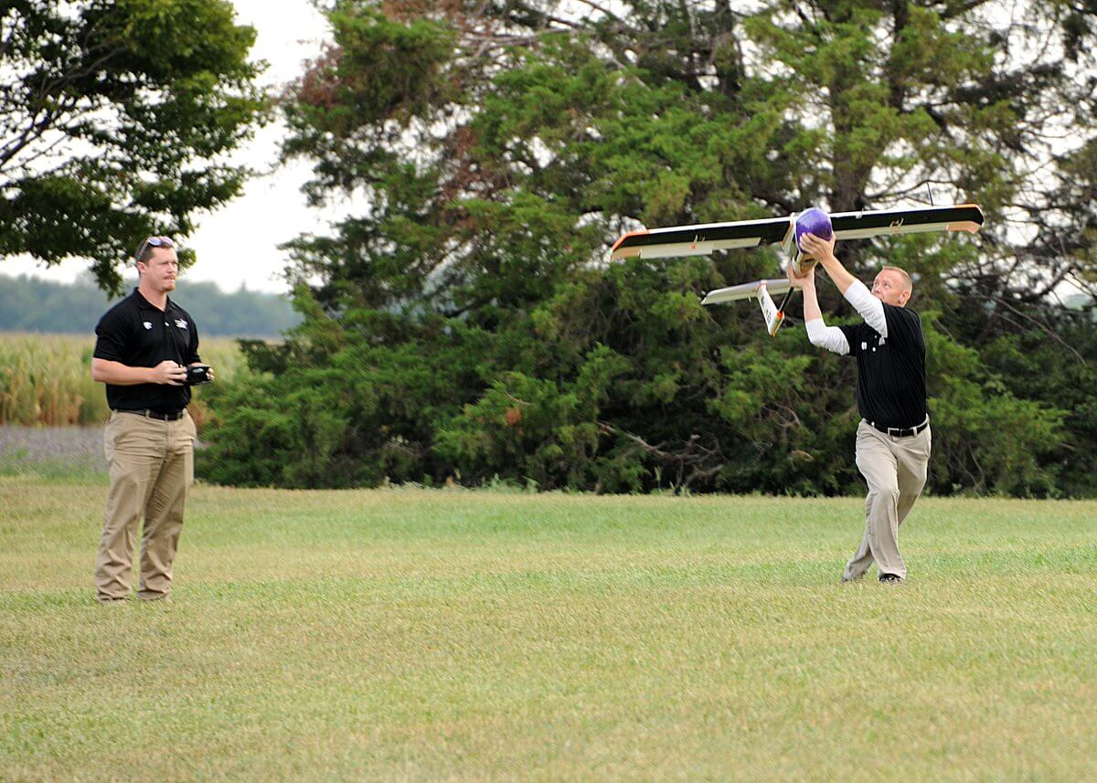Kansas Partners Test Drones Beyond Line of Sight - Unmanned Aerial