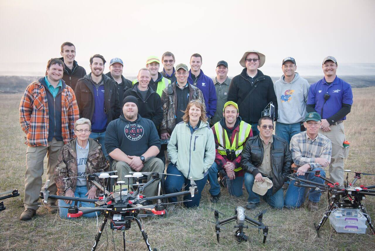 kansas-state Drones Playing Key Role in Kansas Flint Hills Smoke Management Plan