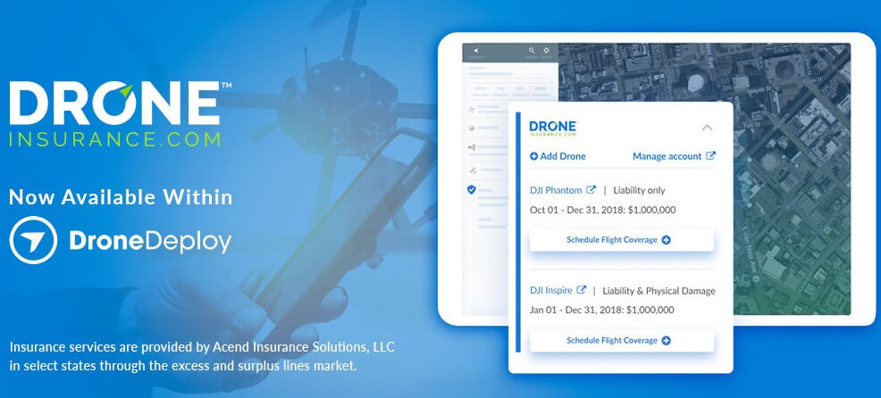 DroneDeploy Adds In-App Insurance Options - Unmanned Aerial