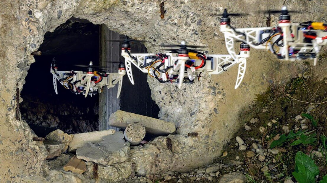 New 'Morphing' Drone Designed for Intricate Search and Rescue - Unmanned Aerial