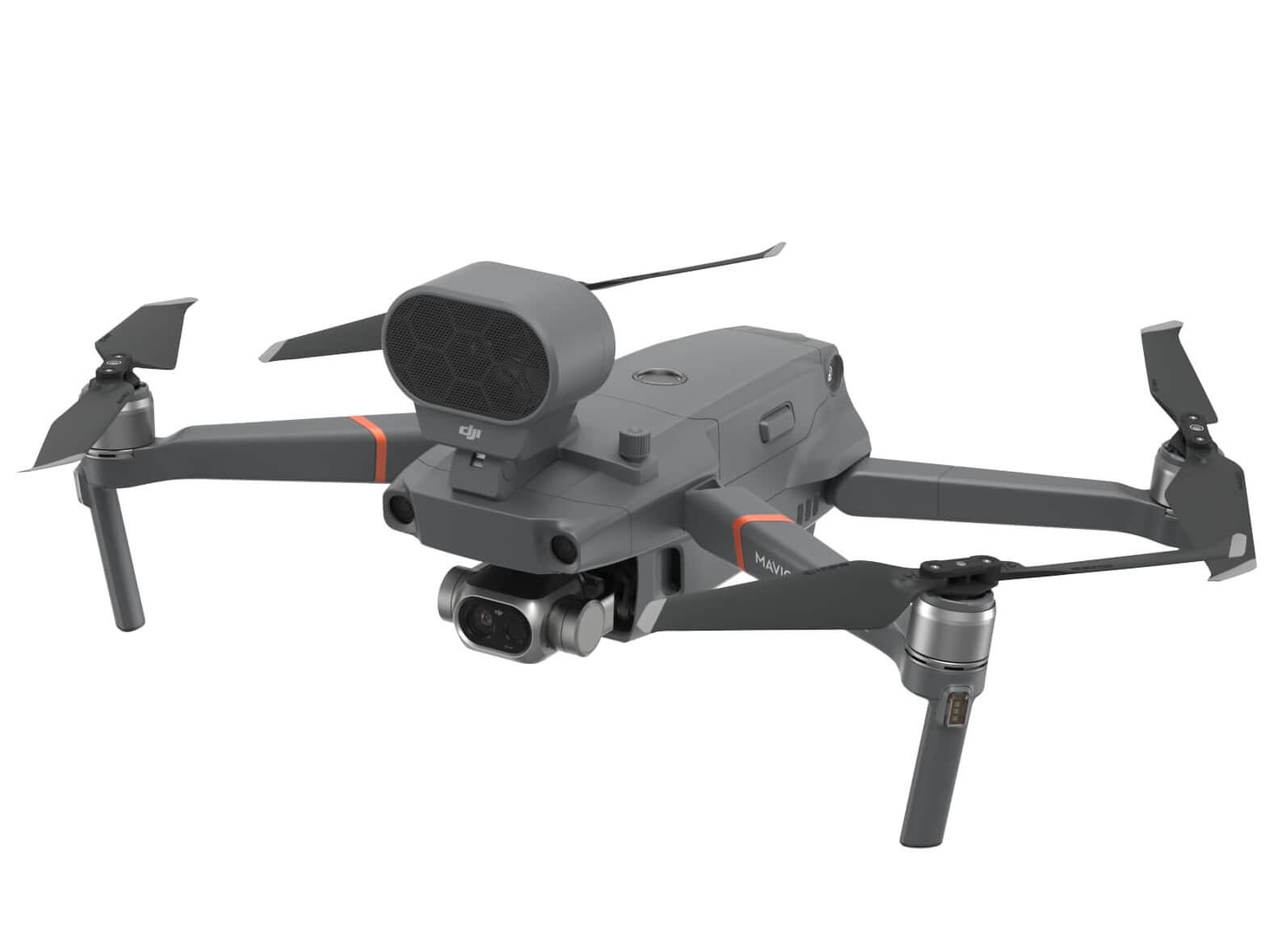 9d0a4b4dc9a DJI has introduced the Mavic 2 Enterprise Dual, a portable, industrial  drone featuring side-by-side visual and thermal cameras.