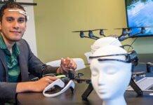brain drone race