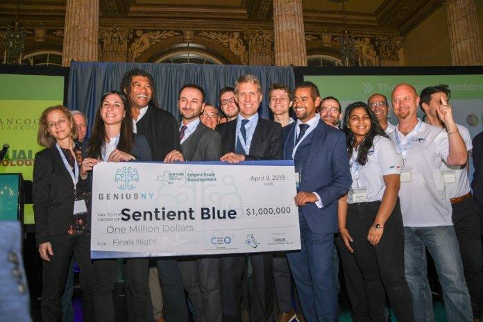 sentient blue