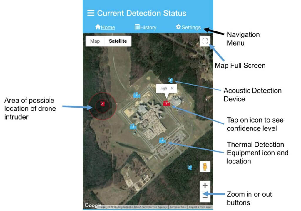 screenshot-1024x718 Duke Engineers Developing New Method for Detecting Drones at Prisons