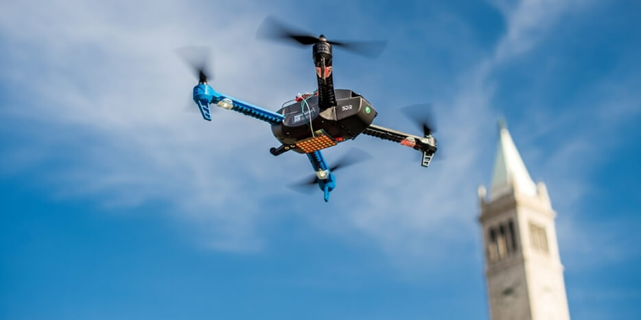 dronehp UC Berkeley Researchers Say Drone Could Fly for Days with New PV Engine
